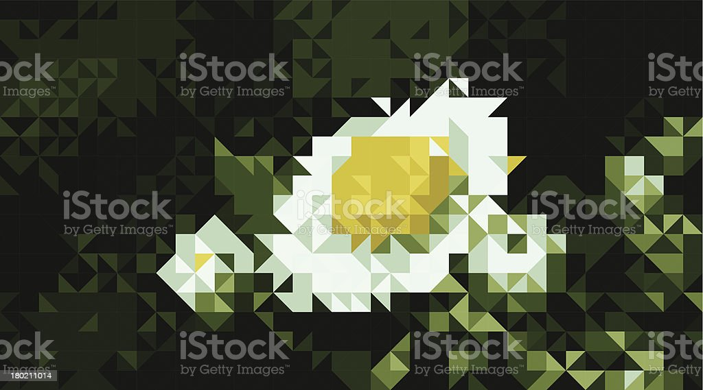 Wildflower royalty-free stock vector art