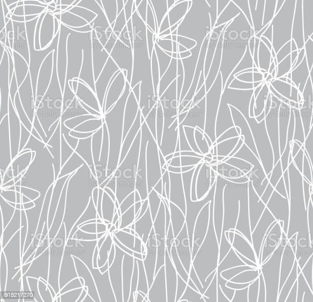 Wildflowers childrens drawing seamless pattern botanical texture vector id915217270?b=1&k=6&m=915217270&s=612x612&h=uepaanvcxdjd9pndi 6bigzpppit1ecpqa3fnqrvziq=