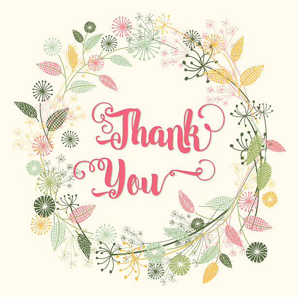 Best Thank You Card Illustrations, Royalty-Free Vector ...