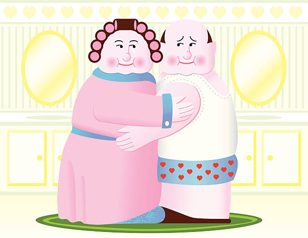 will you still need me when i'm 64? - like two peas in a pod stock illustrations, clip art, cartoons, & icons