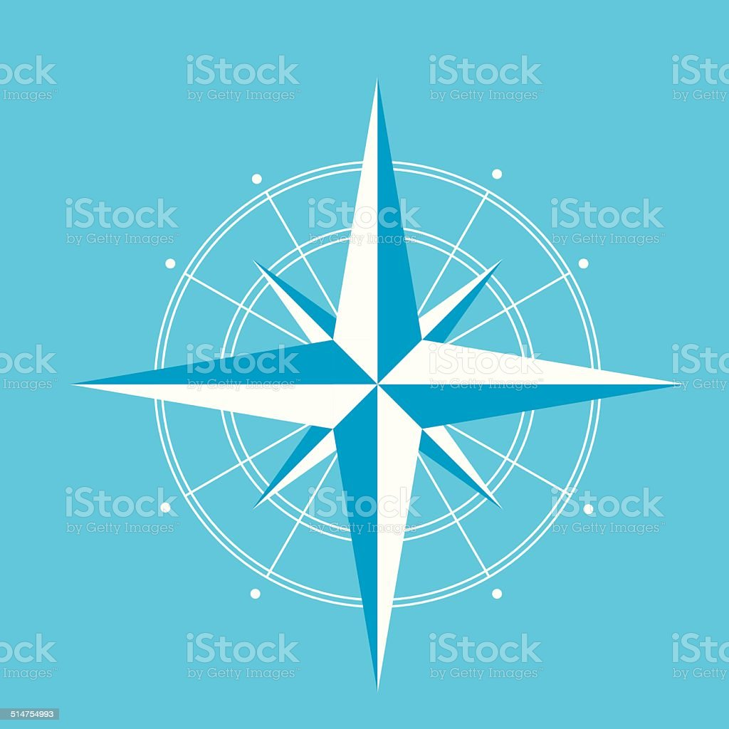 Wind rose compass diagram vector for infographics stock vector art wind rose compass diagram vector for infographics royalty free wind rose compass diagram vector for pooptronica