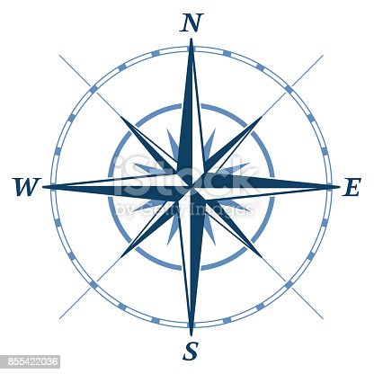 Wind rose design element