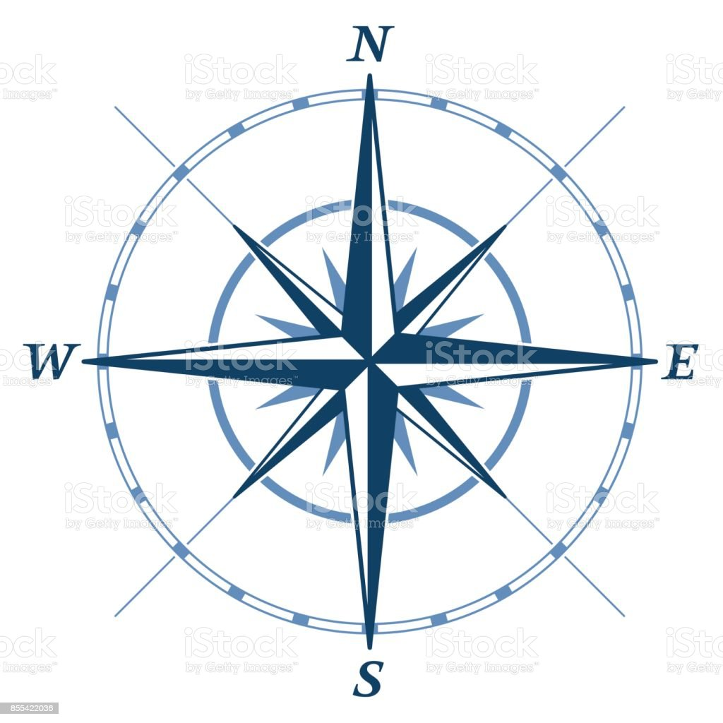 Wind rose - Illustration vectorielle