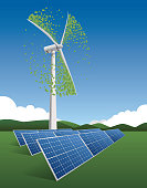Wind Turbine and solar cell