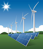 Wind Turbine and solar