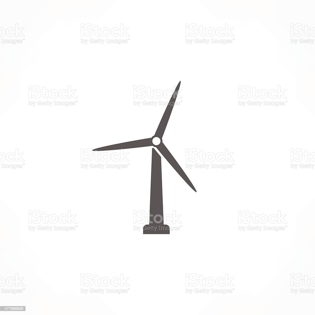 royalty free wind turbine clip art vector images illustrations rh istockphoto com wind turbine clipart wind turbine clip art free