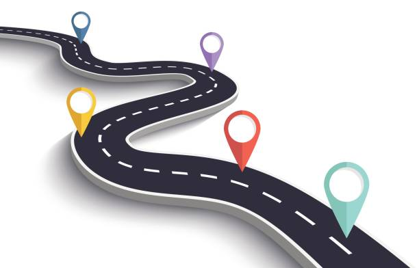 Best Roadmap Illustrations, Royalty-Free Vector Graphics ...
