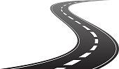 istock Winding road timeline concept 1301770029