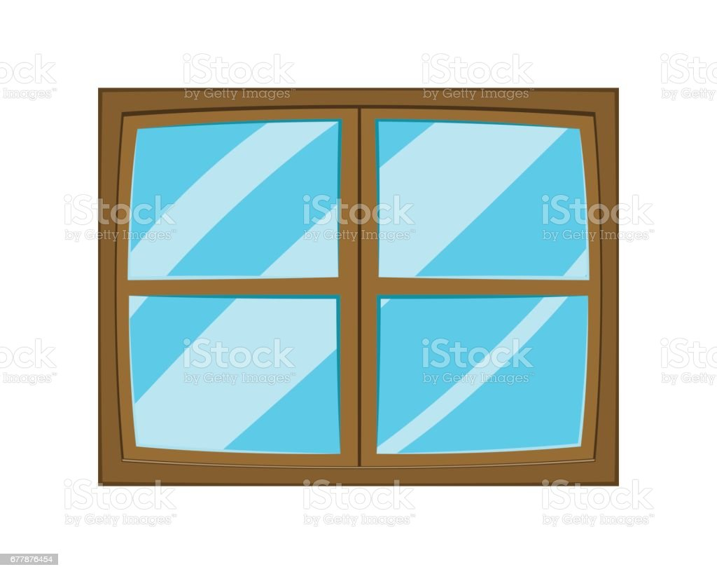 Window cartoon vector symbol icon design. royalty-free window cartoon vector symbol icon design stock vector art & more images of apartment