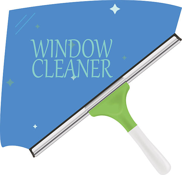 Best Window Cleaning Illustrations Royalty Free Vector