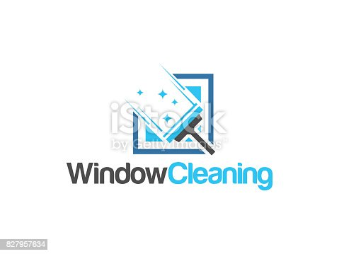 Cleaning free logo designs to download for Window cleaning logo ideas