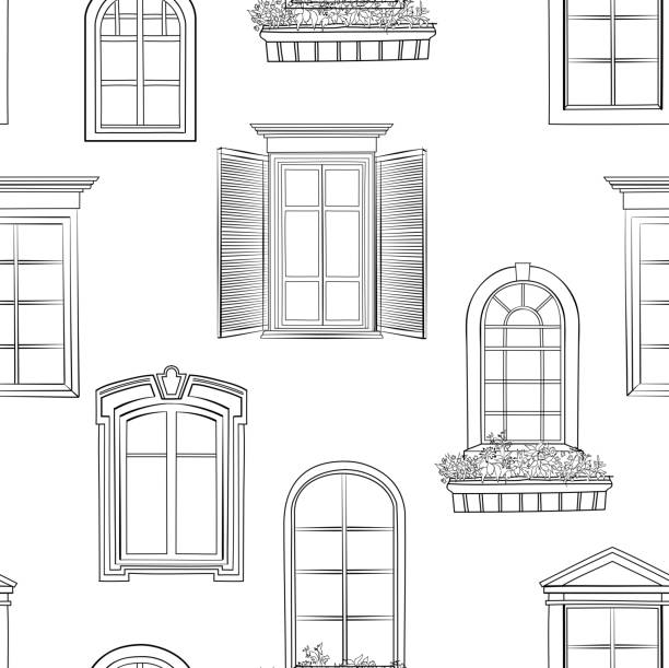 Royalty Free Window Clip Art, Vector Images
