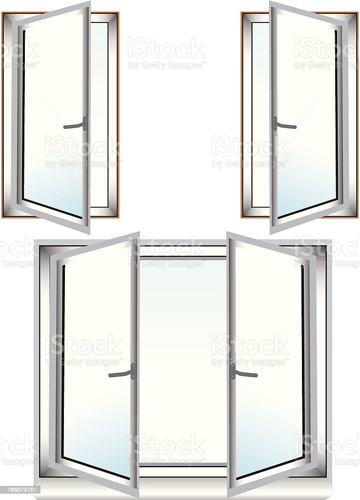 window royalty-free window stock vector art & more images of architecture