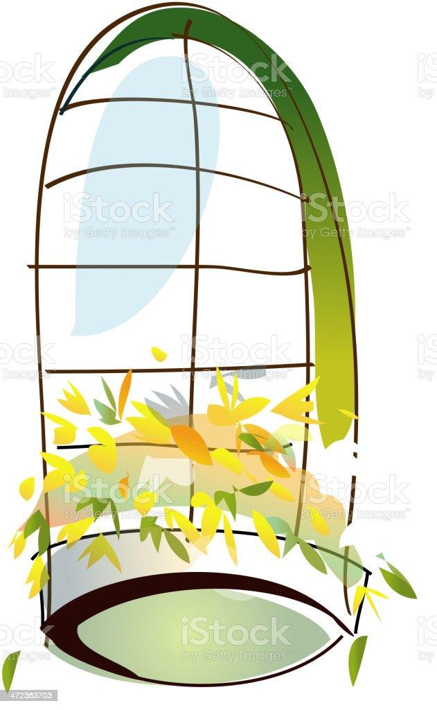 Fenster Stock Vektor Art Und Mehr Bilder Von Balkon 472363703 Istock