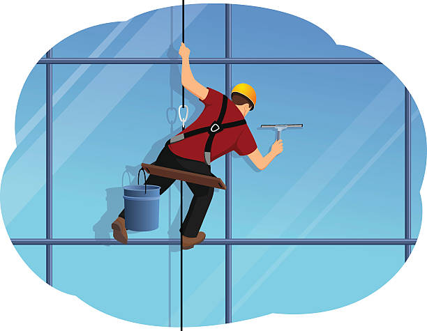 Royalty Free Window Cleaning Clip Art, Vector Images ...