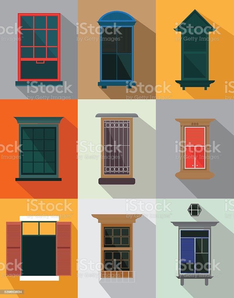 Windows - Illustration vector art illustration