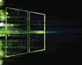 windows style technology background