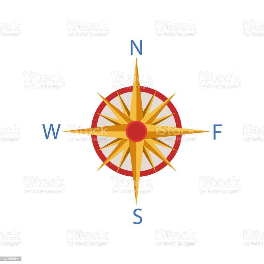 Windrose Portuguese Famous Symbol windrose portuguese famous symbol – cliparts vectoriels et plus d'images de blanc libre de droits