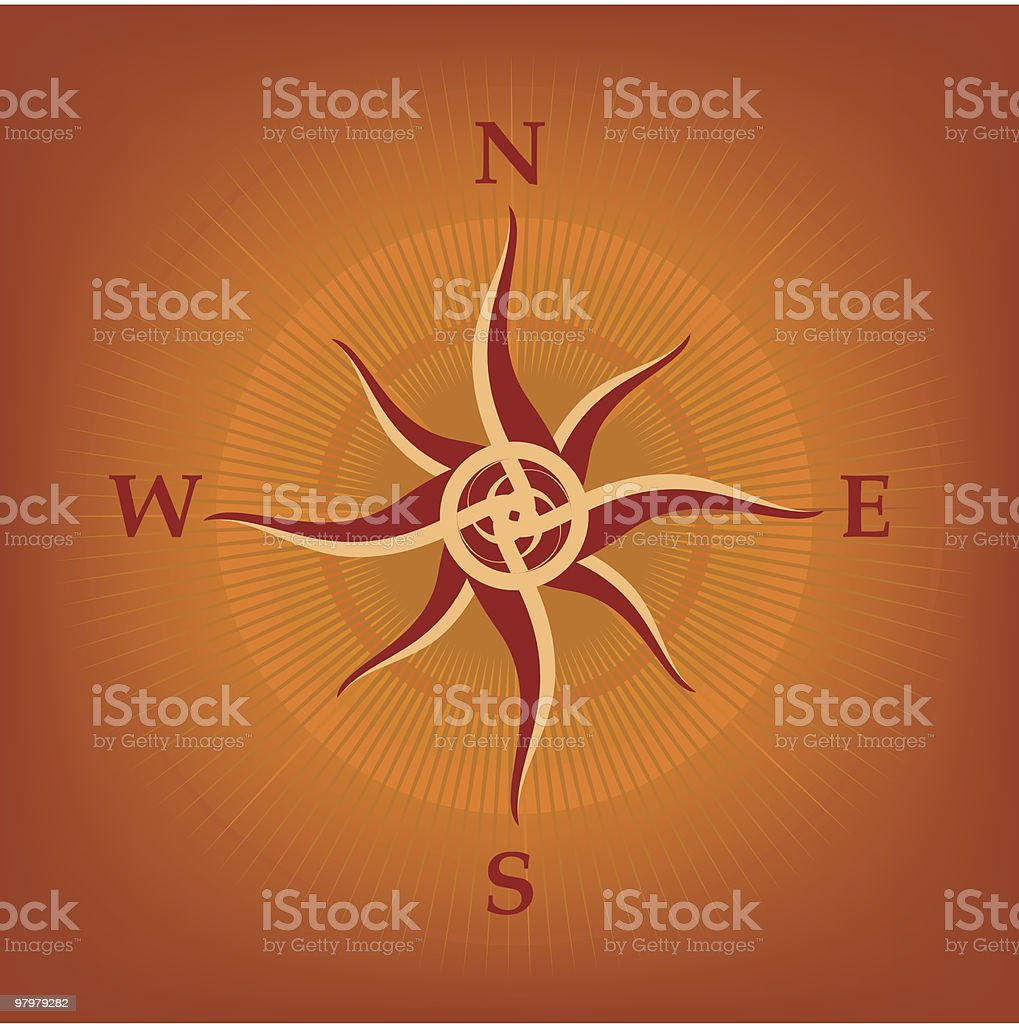 Wind-rose royalty-free windrose stock vector art & more images of art