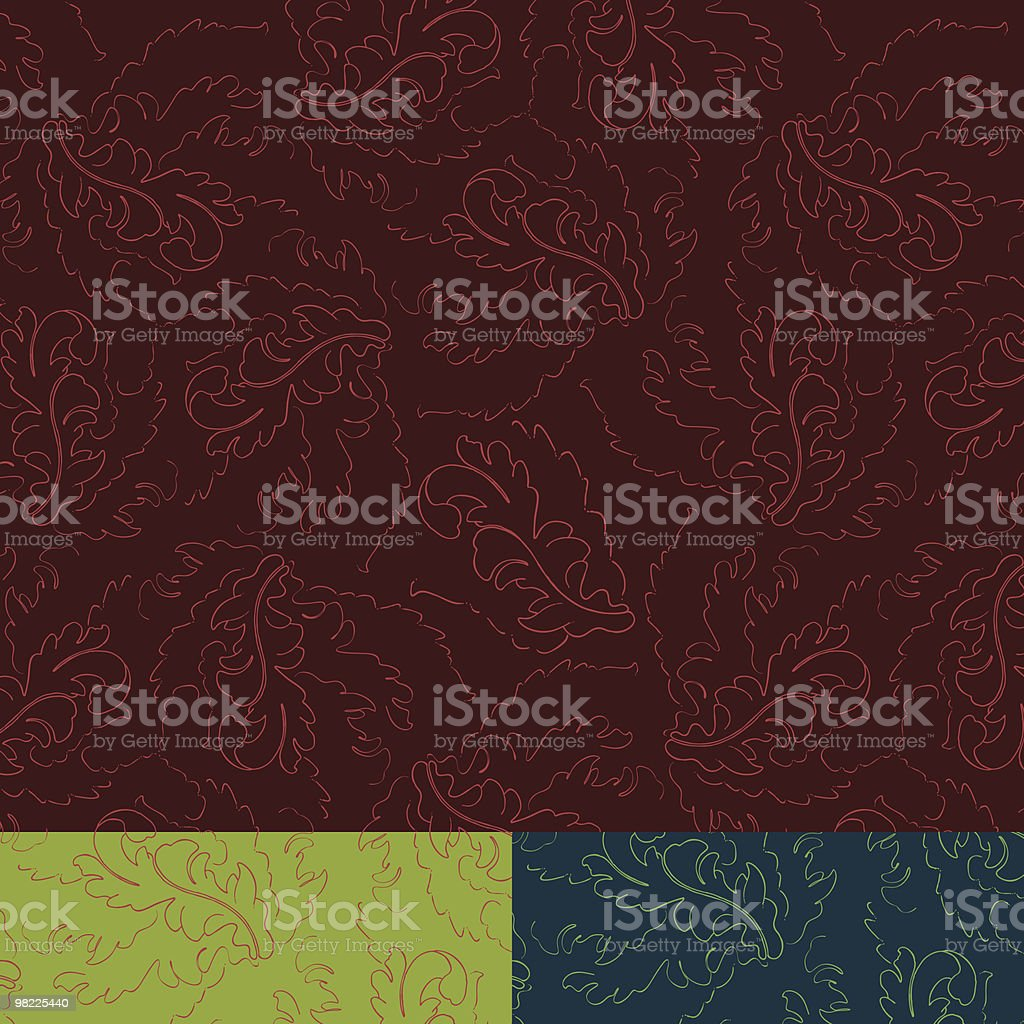 Windy Nouveau Leaves royalty-free windy nouveau leaves stock vector art & more images of abstract