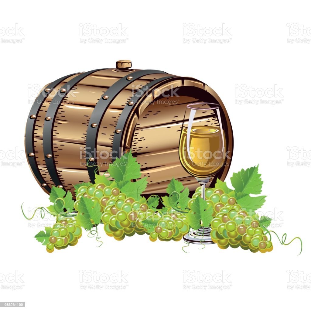 Wine barrel royalty-free wine barrel 나무에 대한 스톡 벡터 아트 및 기타 이미지