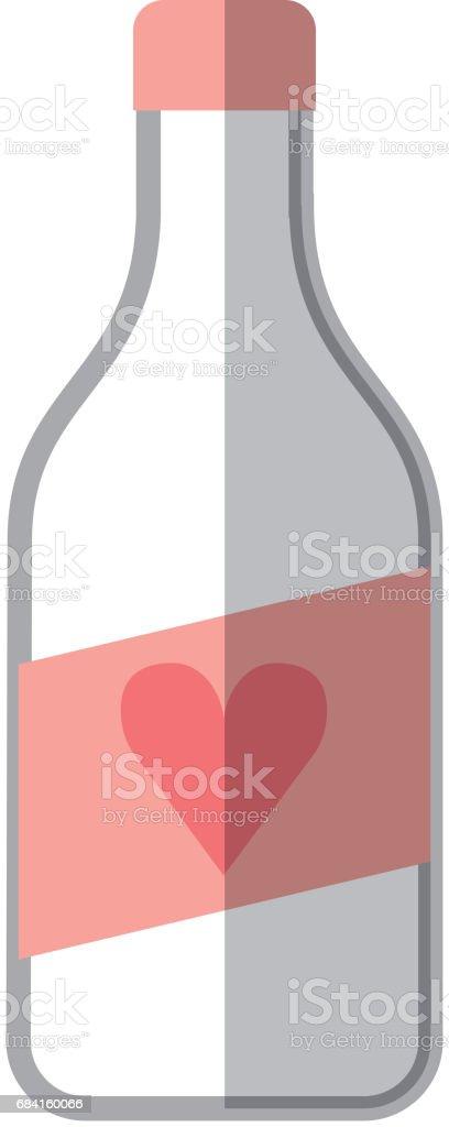 vinflaska isolerade ikonen royaltyfri vinflaska isolerade ikonen-vektorgrafik och fler bilder på abstrakt