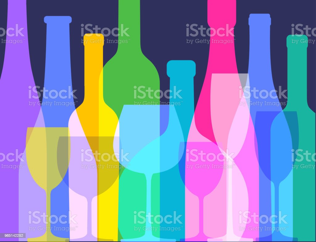 wine bottles and wine glasses royalty-free wine bottles and wine glasses stock vector art & more images of alcohol
