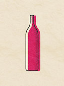 istock Wine bottles illustration 1182584085