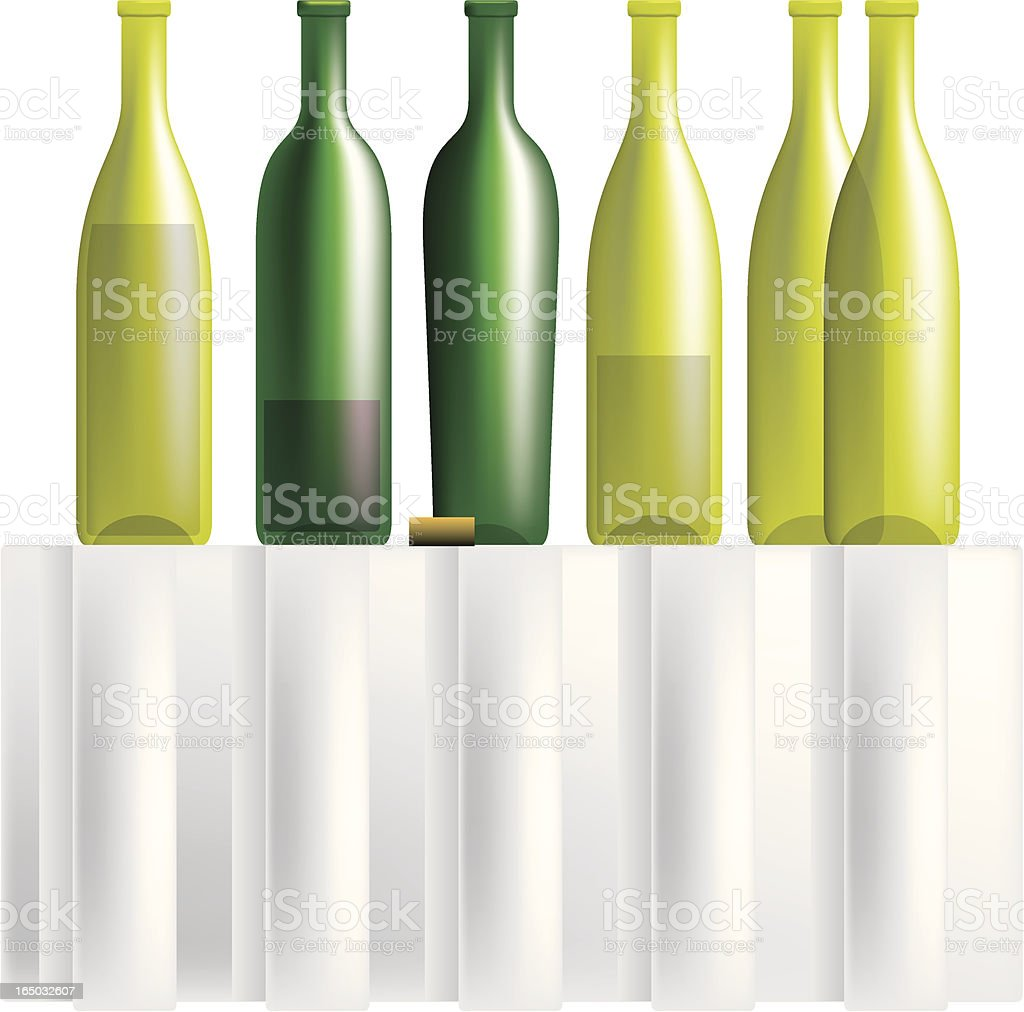 wine bottles royalty-free wine bottles stock vector art & more images of alcohol