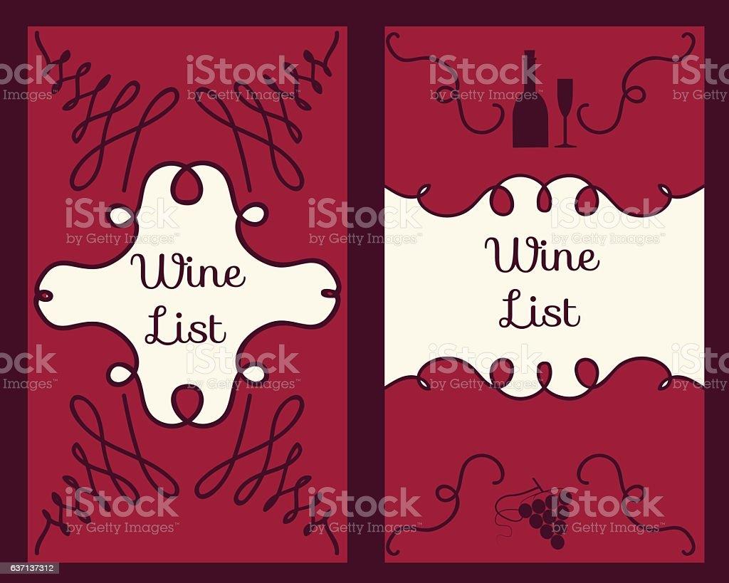 Wine Business Cards Set stock vector art 637137312 | iStock