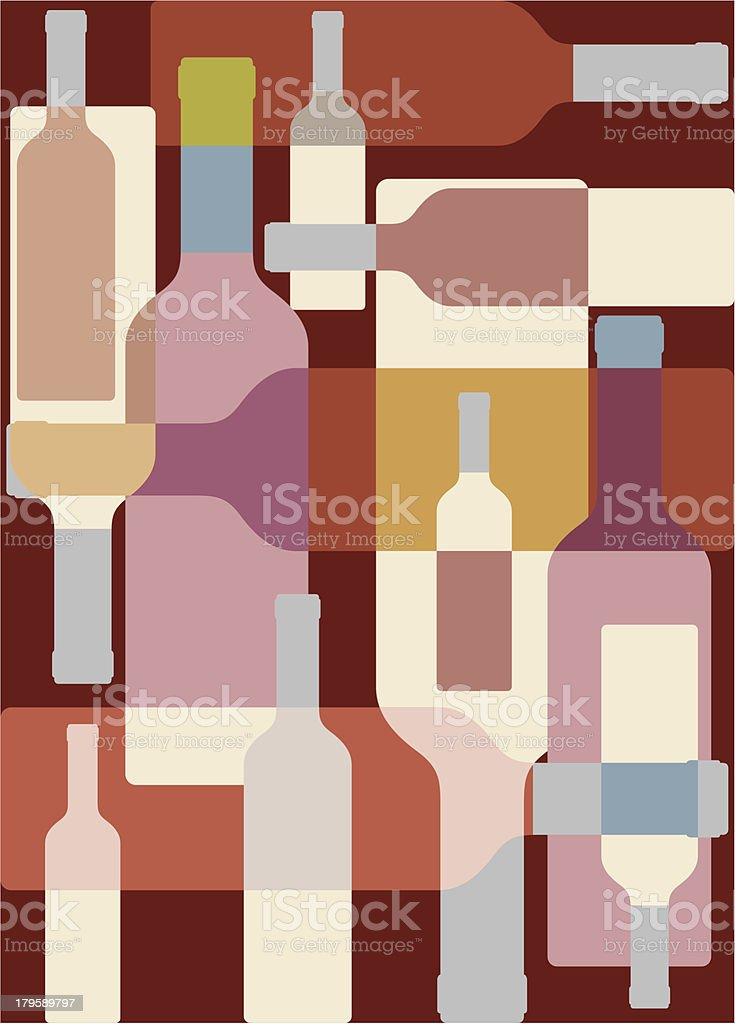 Wine colorful background royalty-free stock vector art