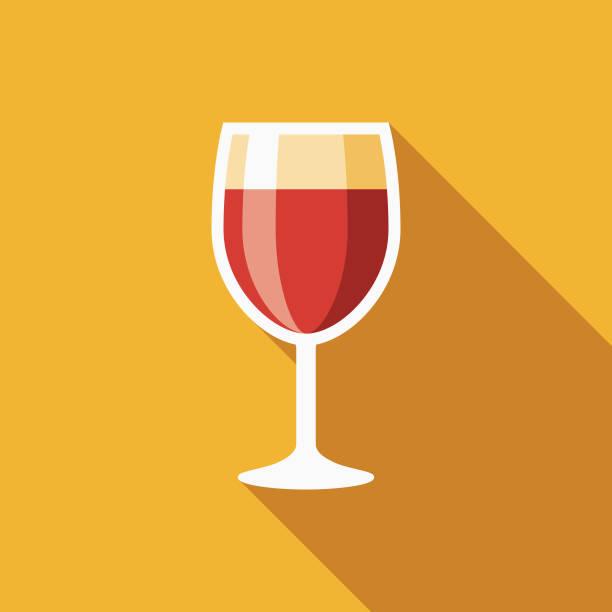 ワインのフラット デザイン ハヌカ アイコン - ワイングラス点のイラスト素材/クリップアート素材/マンガ素材/アイコン素材