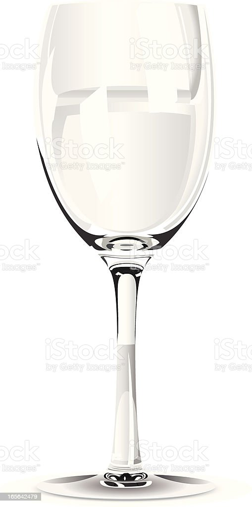 Wine Glass royalty-free stock vector art