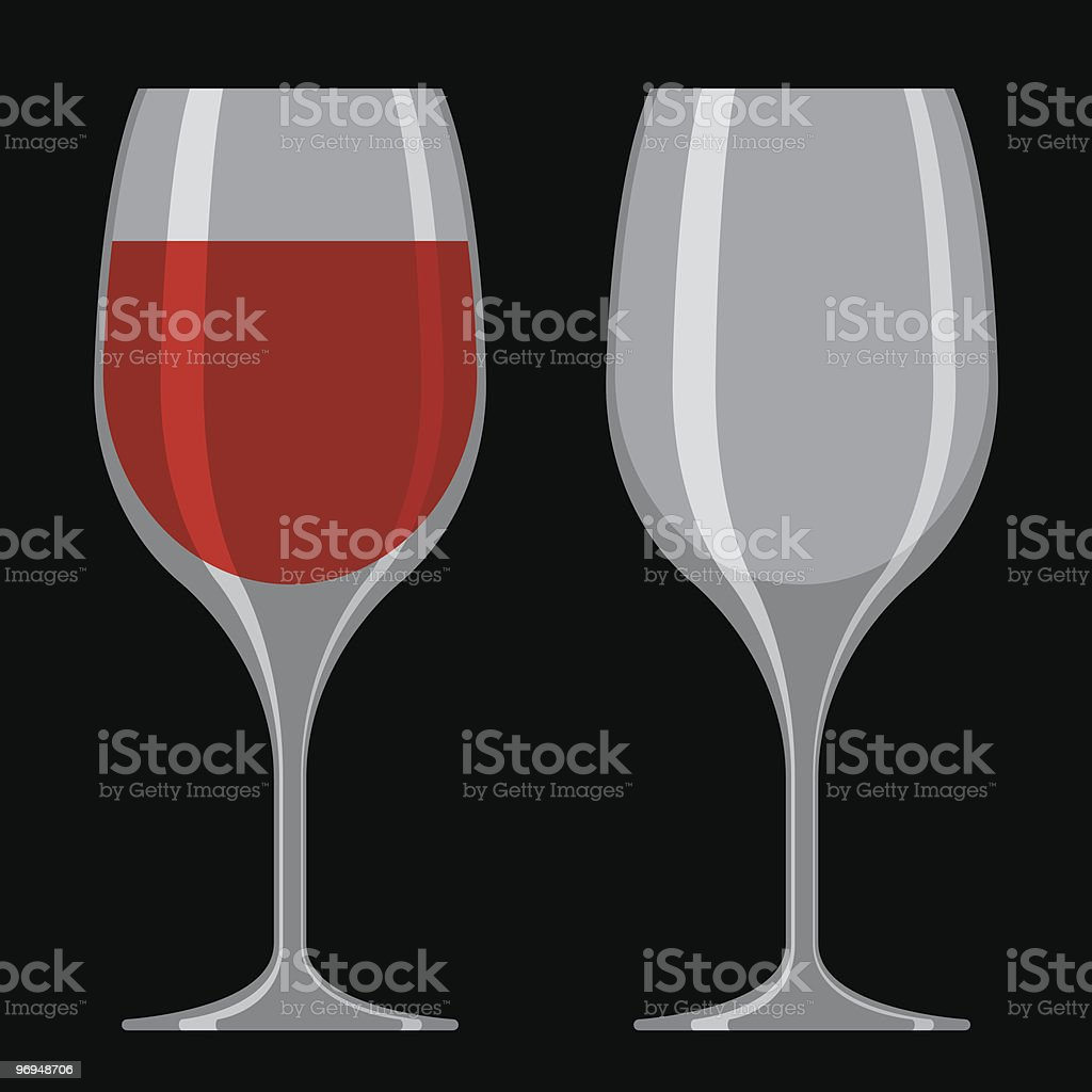 Wine glass royalty-free wine glass stock vector art & more images of alcohol