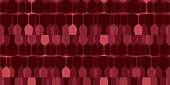 Wine glasses seamless pattern. Flat transparent silhouettes on a dark background. Design element for liquor shop, web banner, texture for wine tasting, wallpaper for menu, wine list, vineyard.