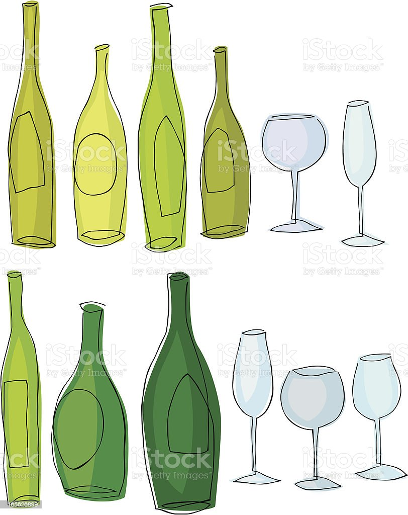 Wine In Line royalty-free wine in line stock vector art & more images of adult