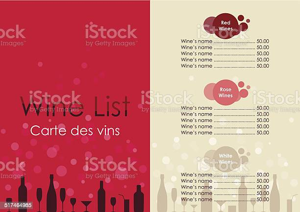 Wine list with transparent bubble on red and beige background vector id517464985?b=1&k=6&m=517464985&s=612x612&h=oghvgbkwkqgwhlut4px8ltymy 0oh3xiy7pgndsd50u=