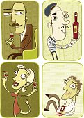 The Connoisseur  - He likes his wine like he likes his women: Full bodied with a robust finish.
