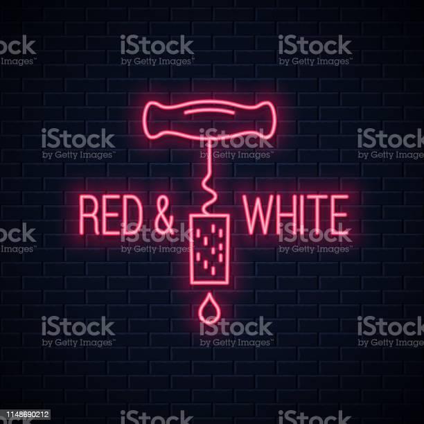 Wine neon sign wine screw cap neon banner on wall background vector id1148690212?b=1&k=6&m=1148690212&s=612x612&h=mjwdprushdsygprcfgfhy849ll7hcnlf00hjkjpfb0s=