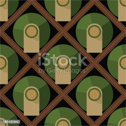 Wine Rack Storage Seamless Tile