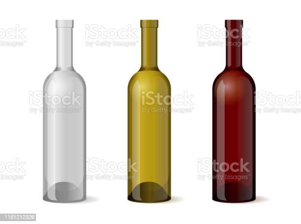 Wine realistic 3d bottle template set for alcohol industry design vector id1151212326?b=1&k=6&m=1151212326&s=612x612&h=ir7kdye12bsdenac07zxe0truzjudorm0ae2gwpa6mk=