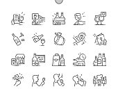 istock Wine Well-crafted Pixel Perfect Vector Thin Line Icons 30 2x Grid for Web Graphics and Apps. Simple Minimal Pictogram 1185193620
