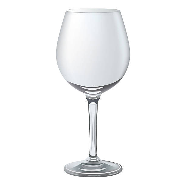 Empty Wine Glass Clip Art, Vector Images & Illustrations ...