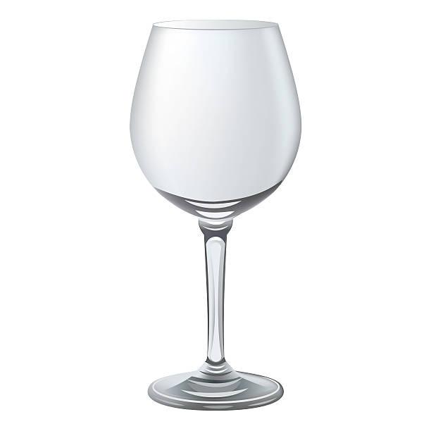 Empty Wine Glass Clip Art, Vector Images & Illustrations ...