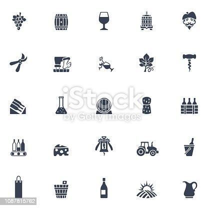 Winery Icons