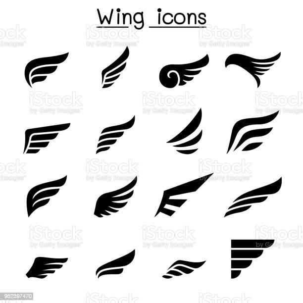 Wing icon set vector id952397470?b=1&k=6&m=952397470&s=612x612&h=n7tqjq49co6vslvmttddtidpncahmorlnvmwaxdlwme=