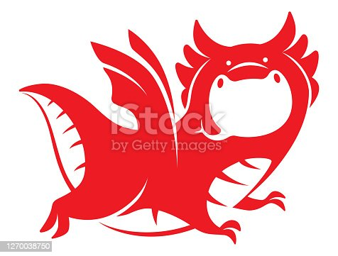 winged dragon symbol