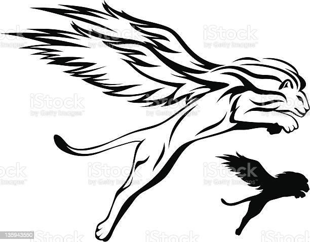 Winged lion vector id135943550?b=1&k=6&m=135943550&s=612x612&h=bbpmibxuwnl2pbehtv3mu59kxsdhjafz gyxkkenvm0=