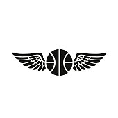 Wings and a Basketball