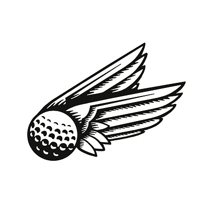 Wings and Golf Ball